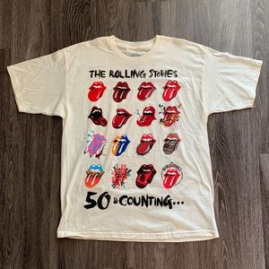 The Rolling Stones 50 & Counting Tee